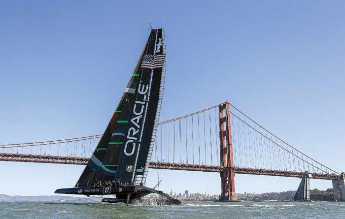 America's Cup Champion Oracle Sailing Again