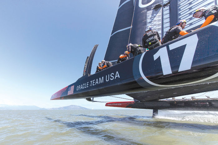 NZ Wins First Real Race of AmCup Challenger Series
