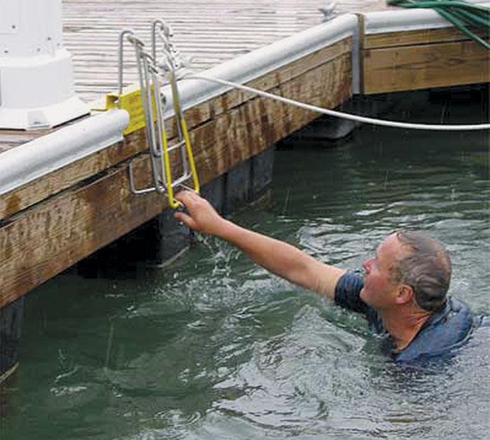 Ladders on Docks Discussed for Oceanside