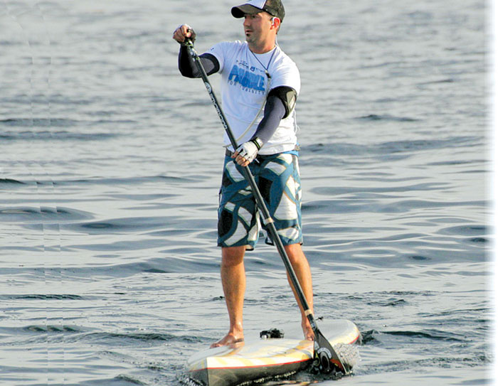 OC Man to Paddleboard 40 Miles for Charity