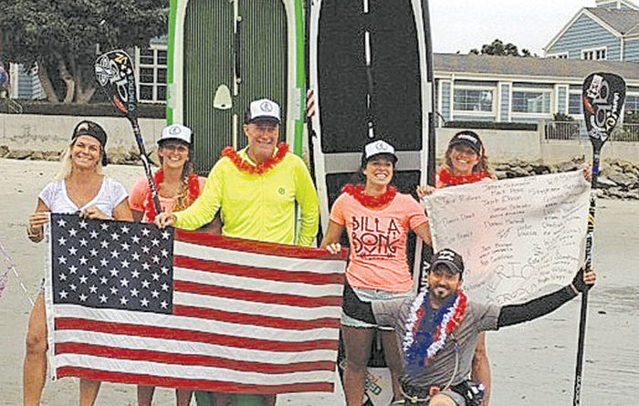 Veteran Finishes Record Channel Islands SUP Run