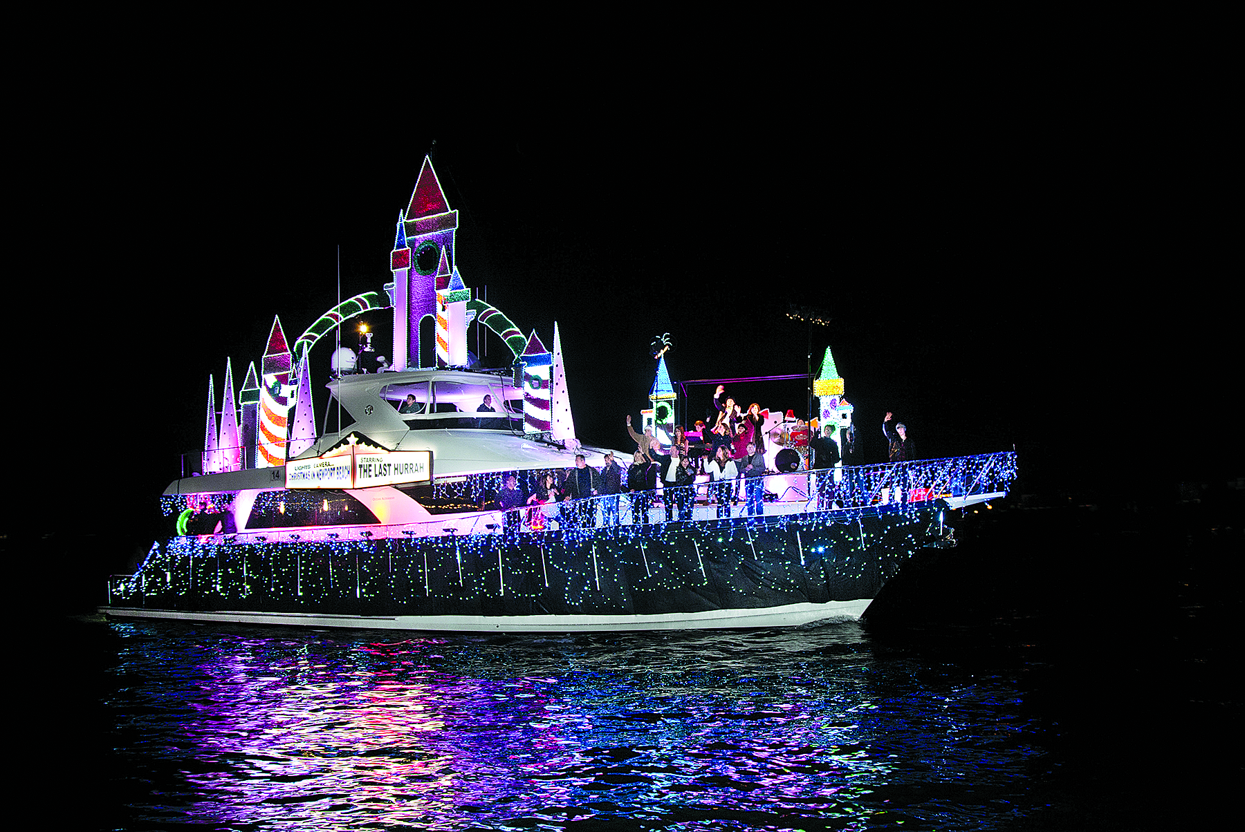 Newport Boat Parade Staying Afloat, Despite Economy