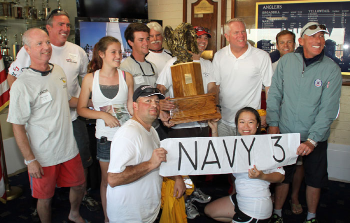 Navy Wins Inaugural Patriot Regatta