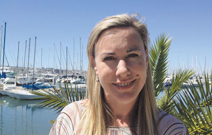 New Shelter Island Marina Dockmaster: Kate Pearson