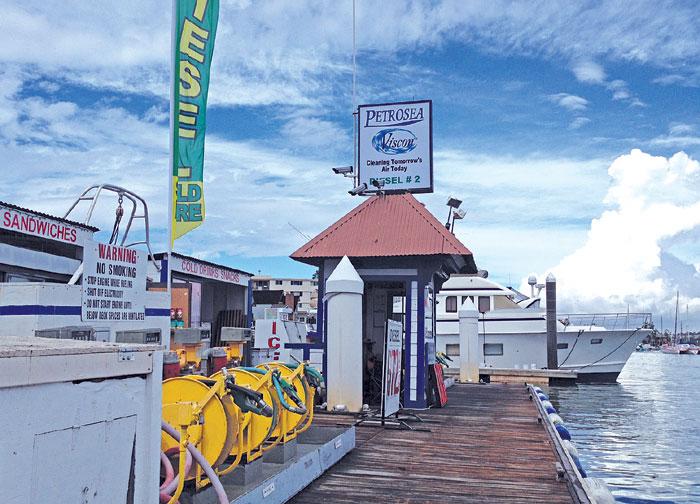 Fuel Dock Reopens in Newport Harbor