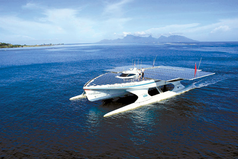 Solar-Powered Boat Completes Circumnavigation