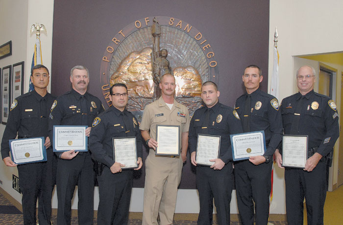 San Diego Harbor Police Officers Honored