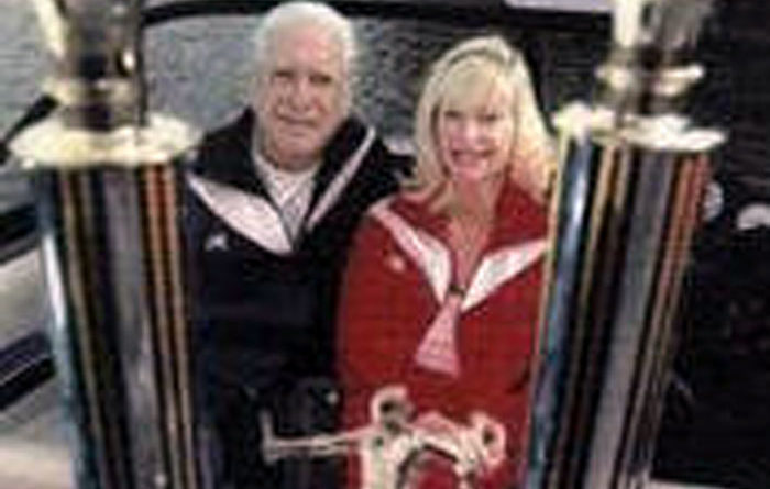 Octogenarian Pair Still Passionate About Waterskiing