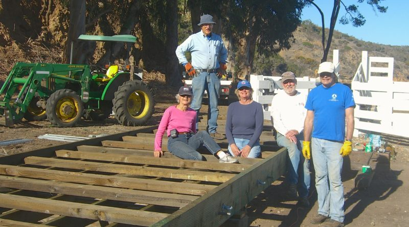 Ventura Yacht Club builds Prisoners Harbor dock