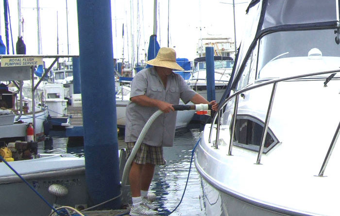 Boaters Get Three Months of Free Pumpouts