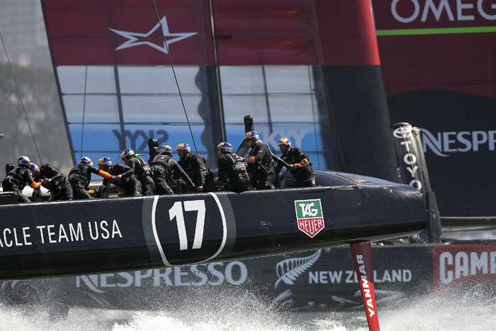 Oracle Team USA Wins America's Cup Race 12
