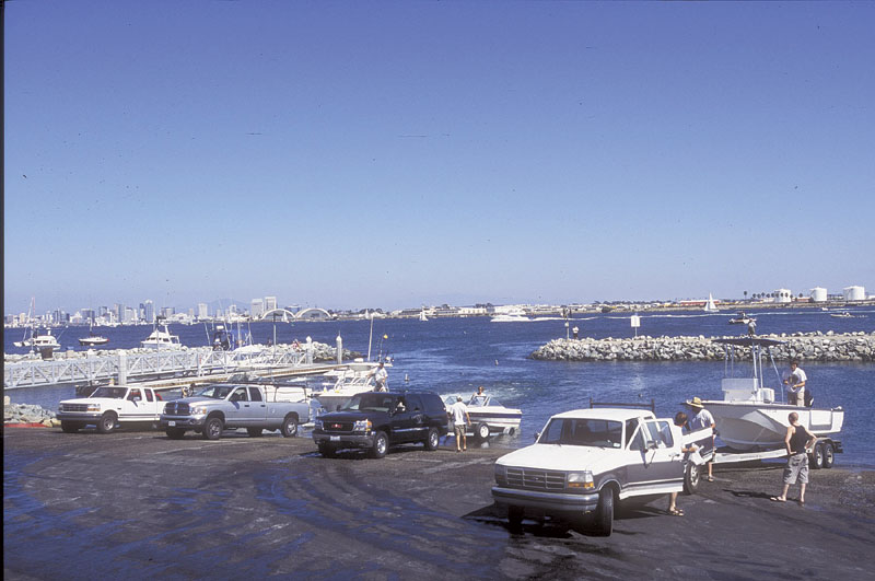 SD Launch Ramp, Parking Closures Set May 14-23