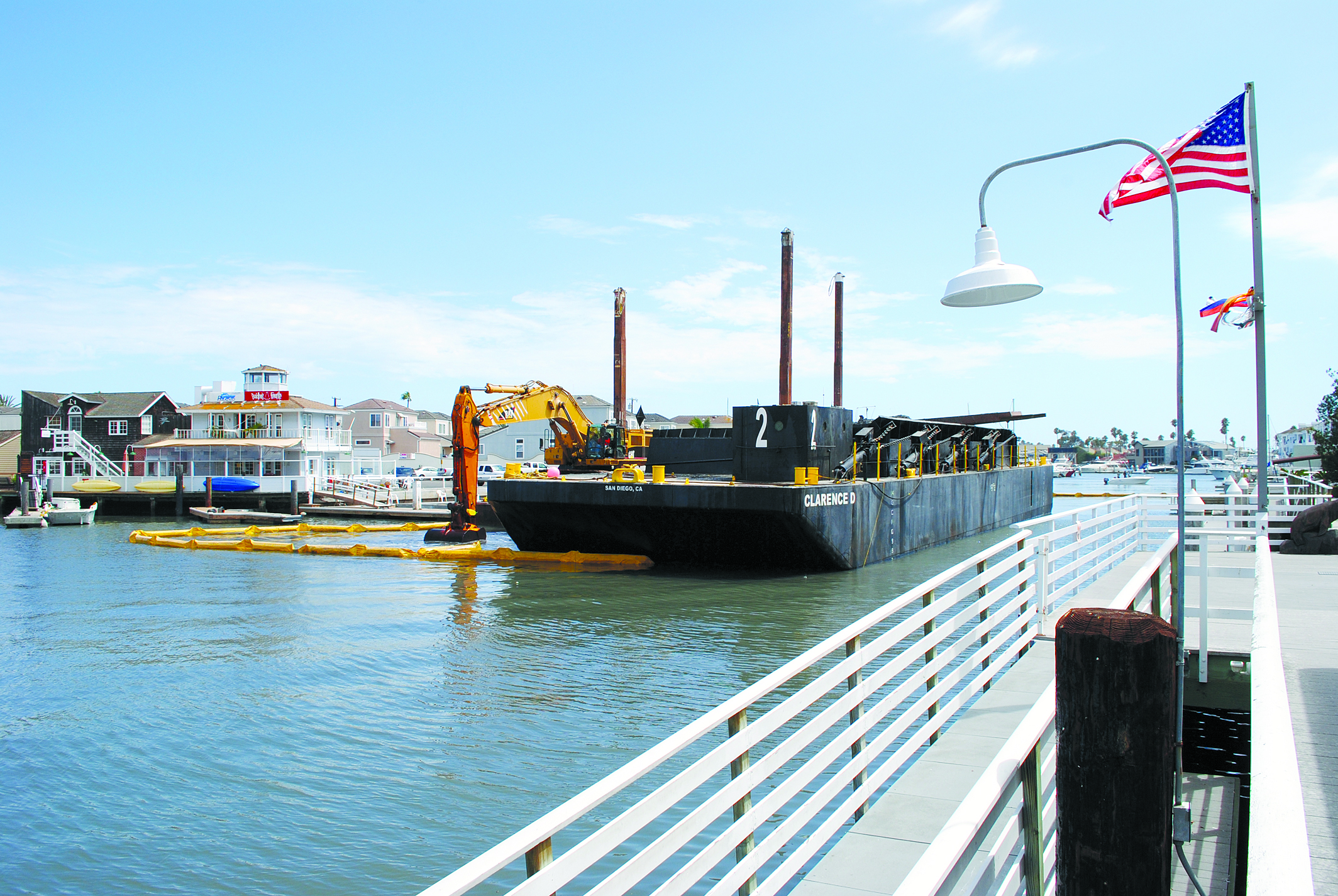 Rhine Channel Dredging Could Be Finished by Thanksgiving