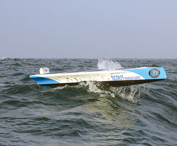 Transatlantic Robot Boat Appears to Be Adrift