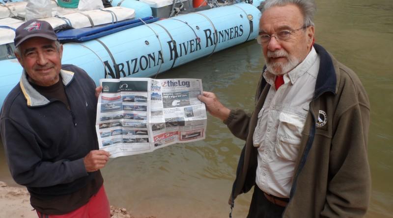 Log Abroad: Steve Steinberg and Phil LeVine