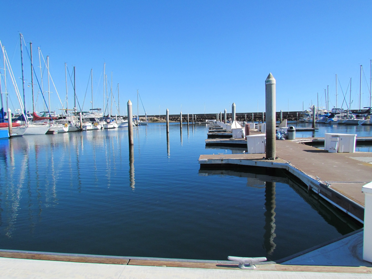 Santa Barbara Marina 1 Renovation Phase 3 Nearly Complete