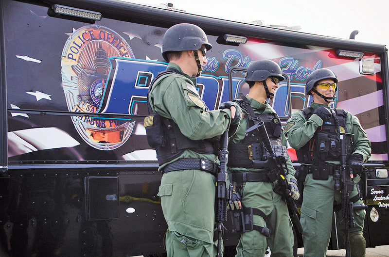 San Diego Harbor Police showcase new tactical training vessel