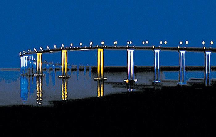 Port Partners with SD Foundation on Bridge Lighting