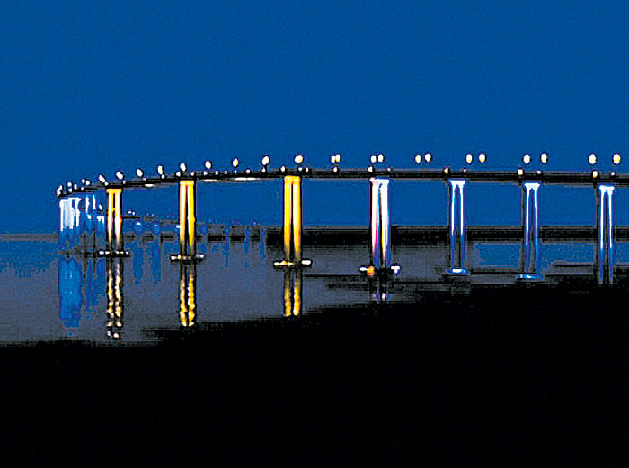 Port Partners with SD Foundation on Bridge Lighting