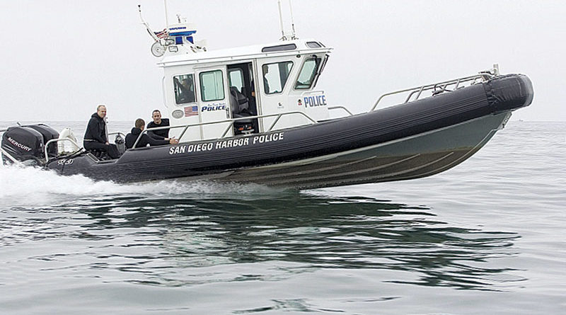 SD Harbor Police Hit with Lasers -- Again