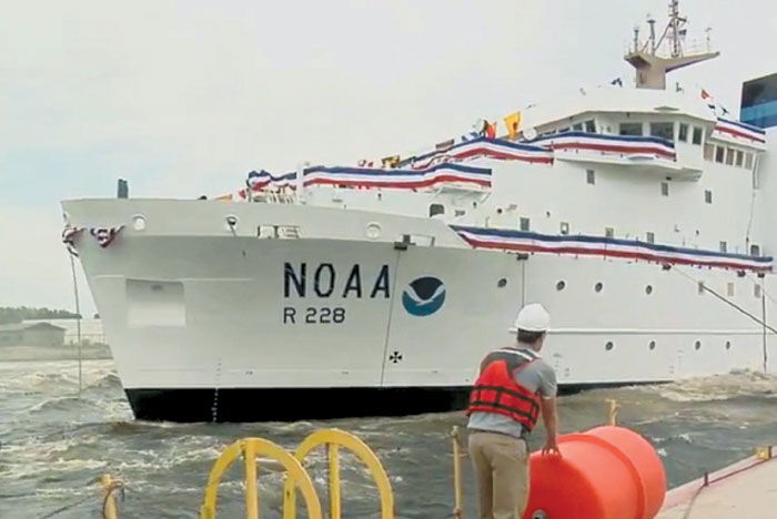 New NOAA Ship to Berth in San Diego