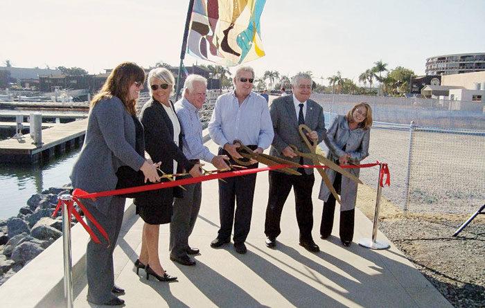 Public Walkway Opens Along America's Cup Harbor