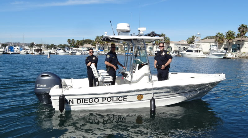 Dock lines: SDPD celebrates arrival of new boat