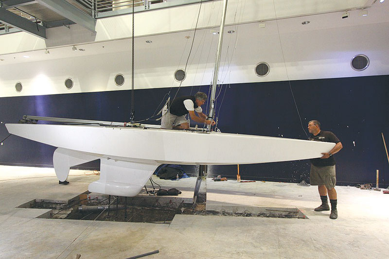 San Diego Hall of Champions Gets Sailing Exhibit