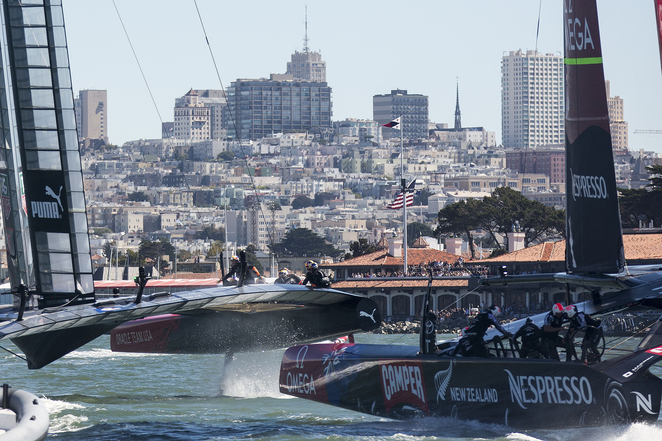San Francisco Losing Ground in Race to Host 2017 America's Cup