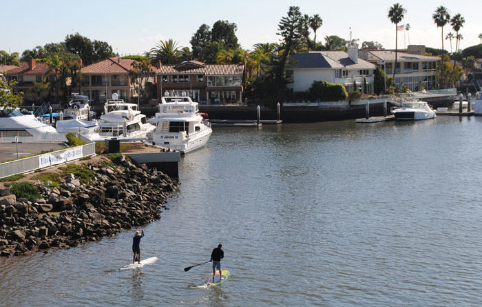 Are Paddleboard Lanes Coming to Newport?