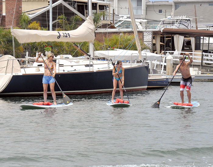 Newport Paddleboard Regulation Talk Quieted
