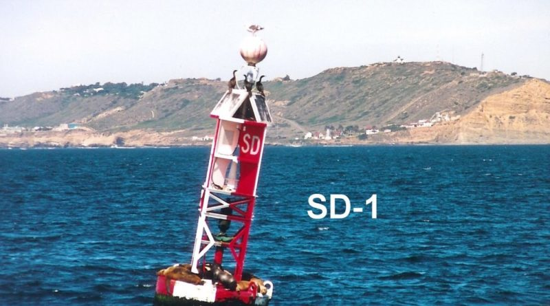 San Diego buoy sinks, sparks debate over navigational aid options