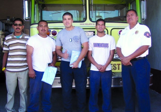 Old Marina Hoses Benefit Mexico Fire Department
