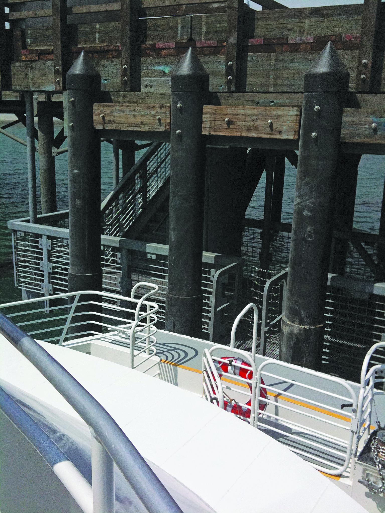 Santa Rosa Island Pier Finally Replaced