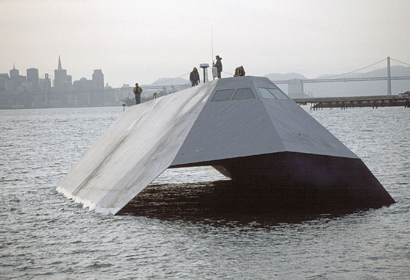 Navy Stealth Ship to Disappear -- Permanently
