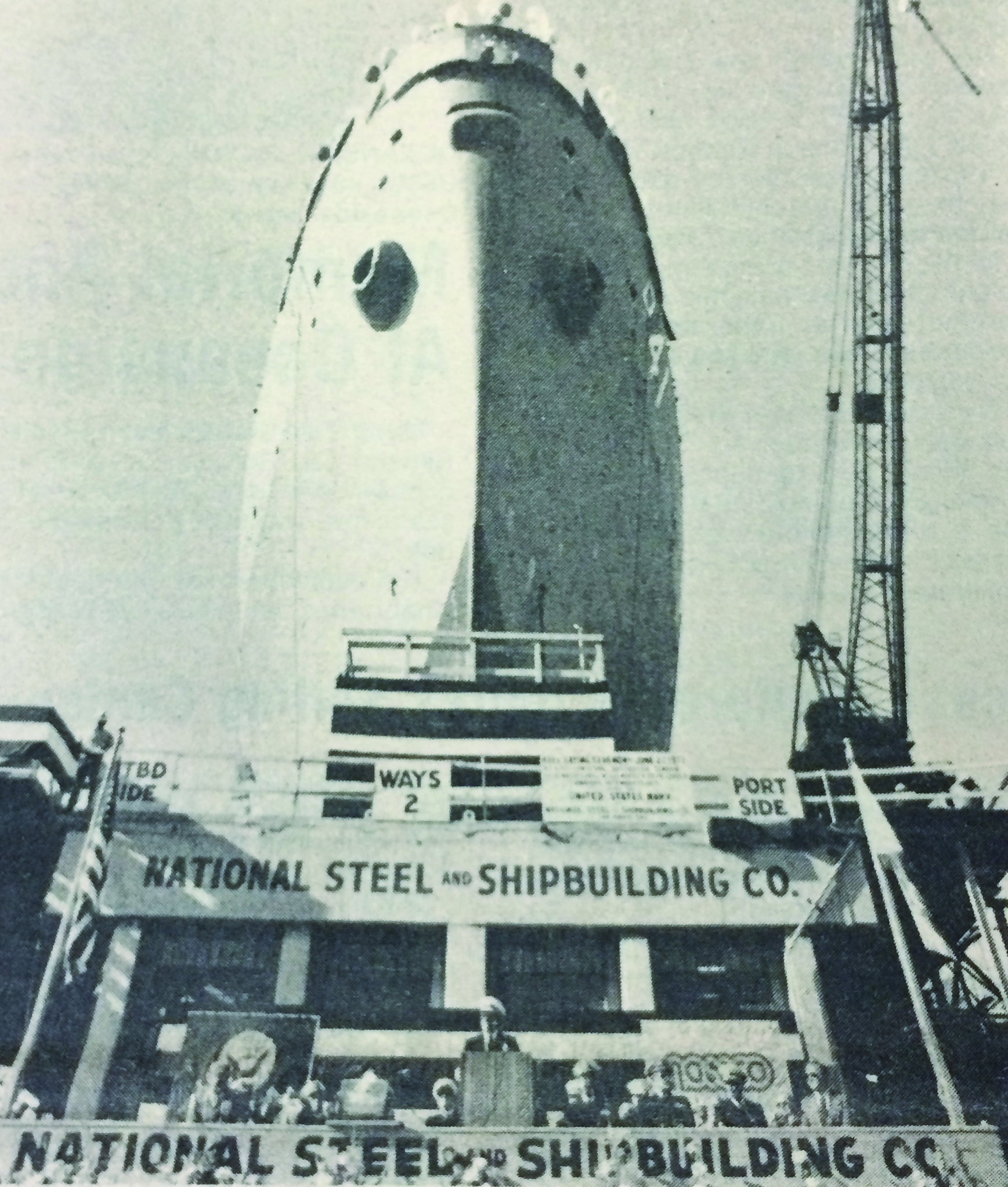 1979: Navy destroyer tender launched at NASSCO