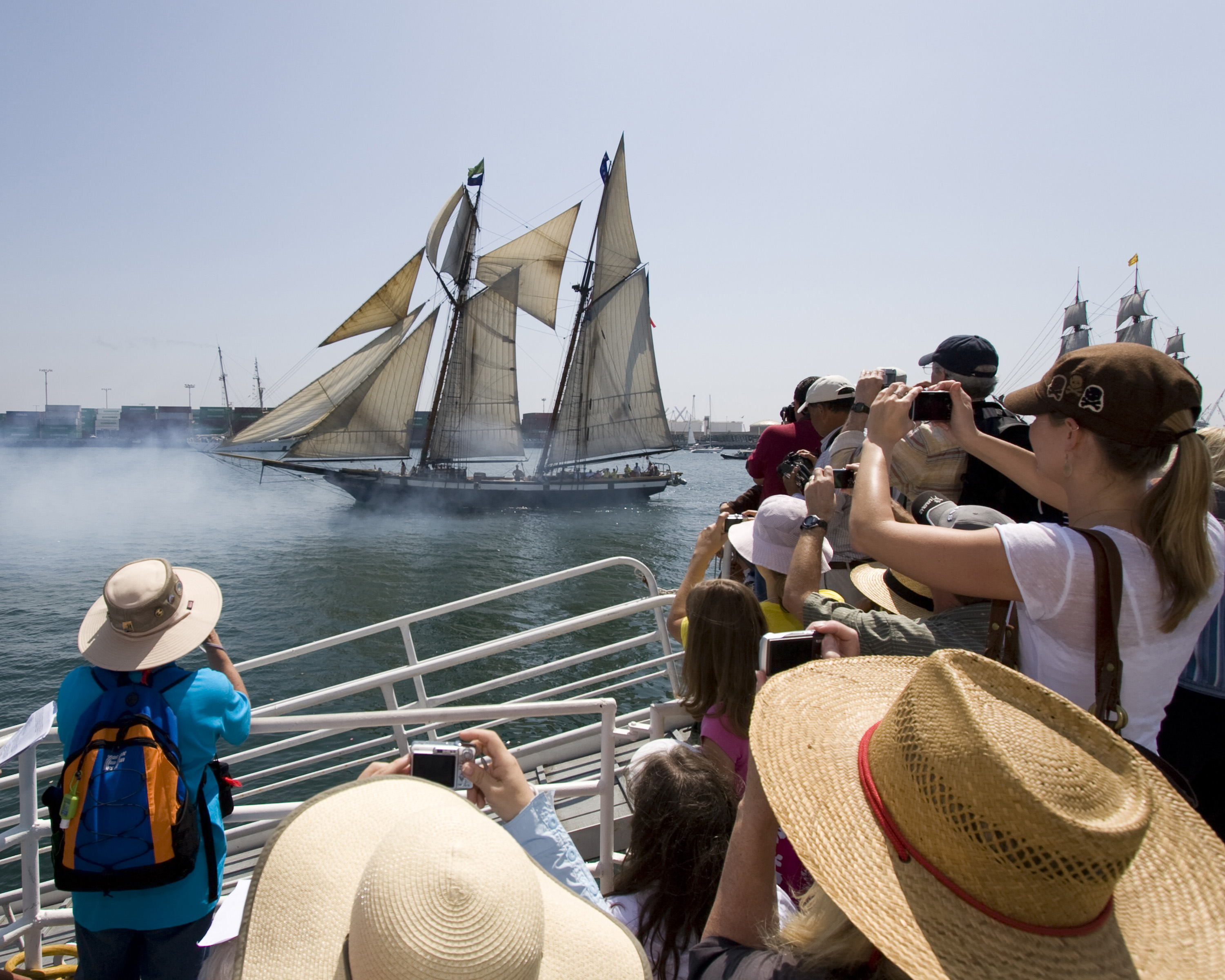 L.A. Waterfront Prepares for Tall Ships Festival 2014