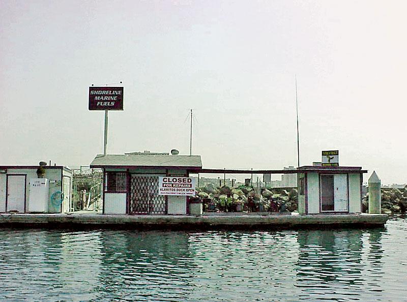 Shoreline Marina Fuel Dock to Reopen by Summer