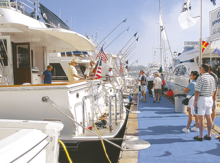 40th Newport Boat Show Held April 18-21