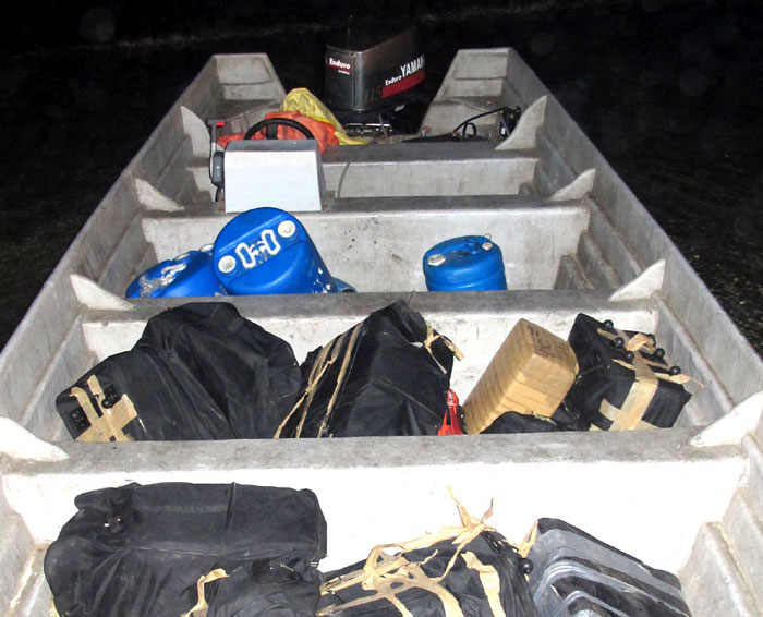Boat, Crew and Pot Nabbed on Del Mar Beach