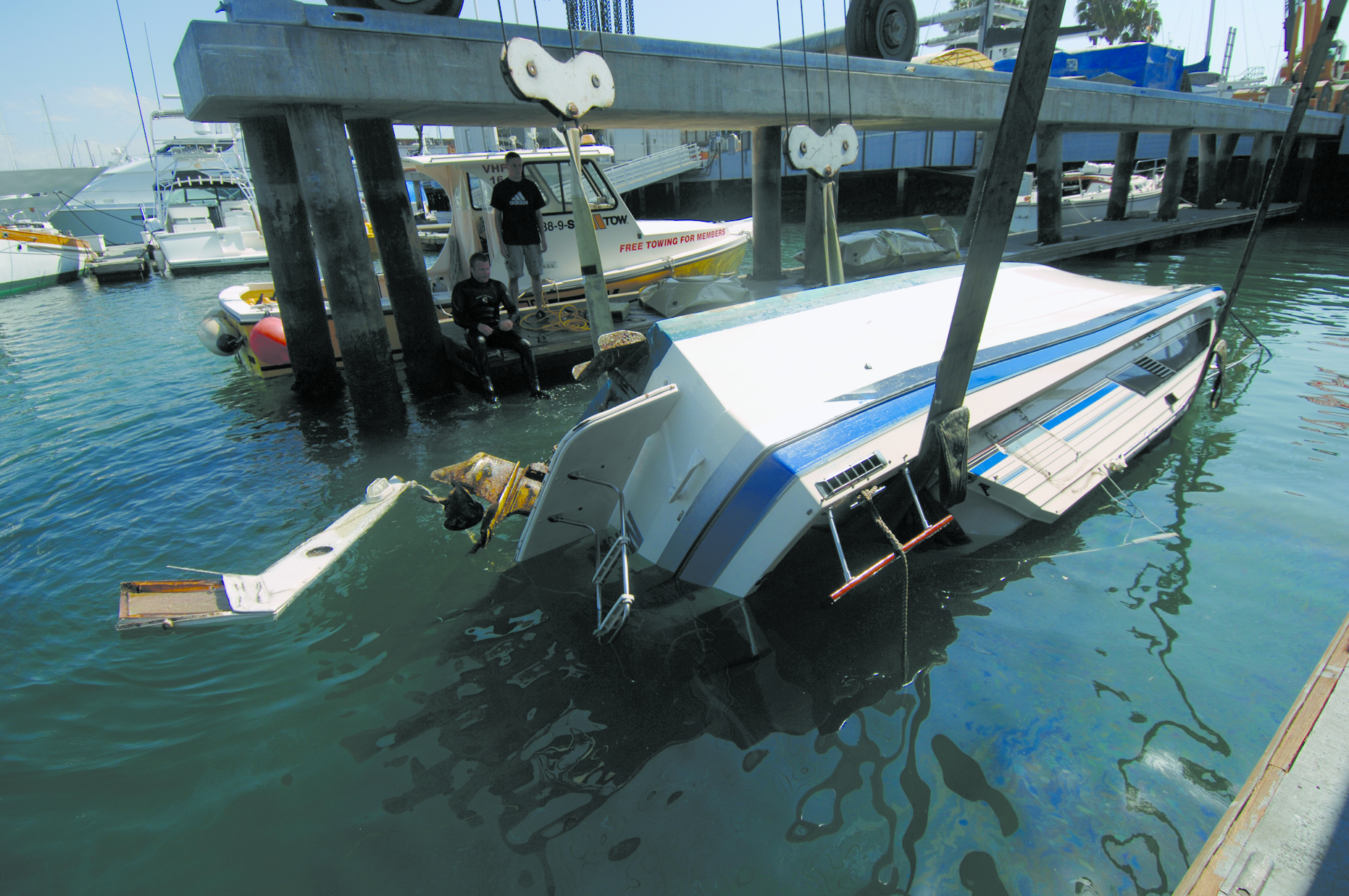L.A. County Sheriff's Department Gets $67,000 for Derelict Vessel Disposal