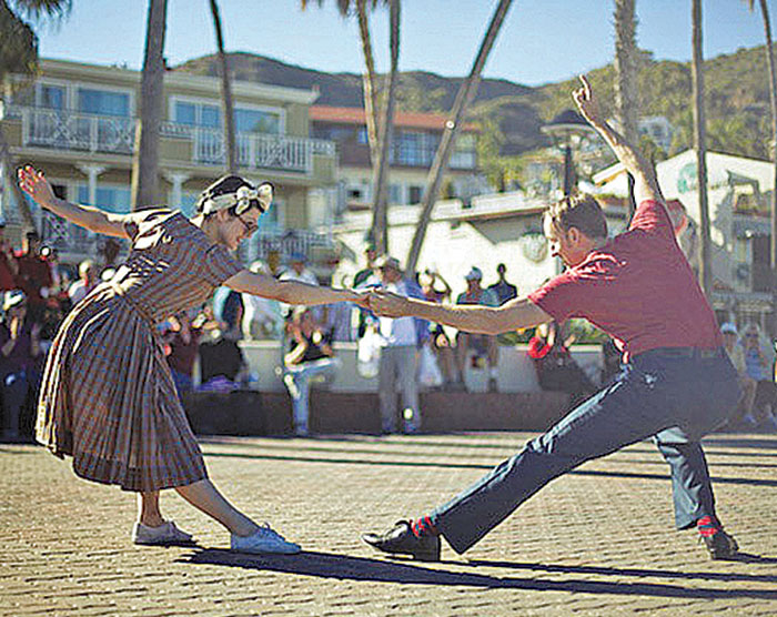 Swing Your Partner at Island Swing Dance Festival