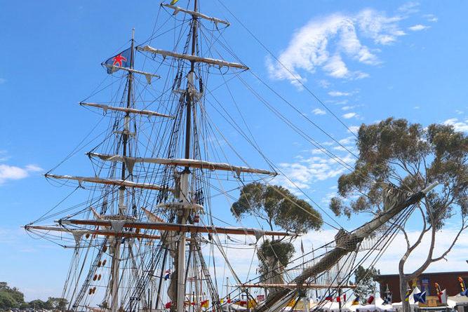 Dana Point Tall Ships Festival endures Hurricane Norbert