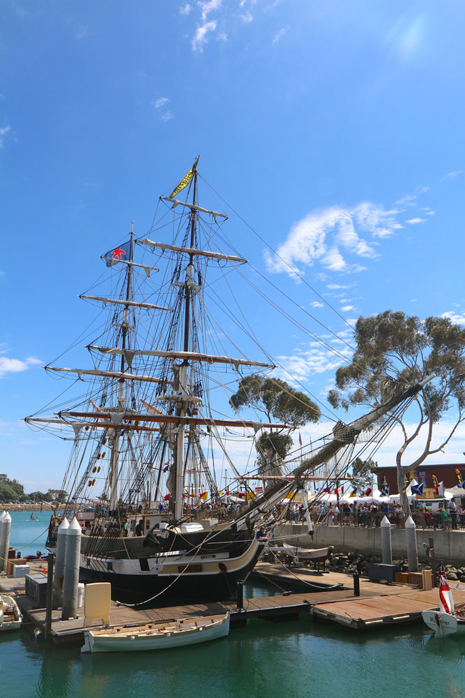 Dana Point Tall Ships Festival endures Hurricane Norbert