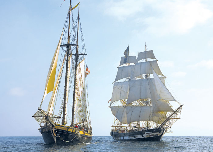 Tall Ships Festival to Sail into Dana Point