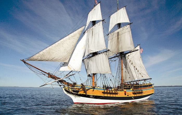 Tall Ships Return to Channel Islands Harbor