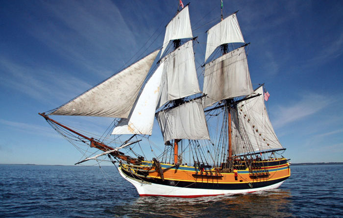 Lady Washington to Visit King Harbor, Chula Vista