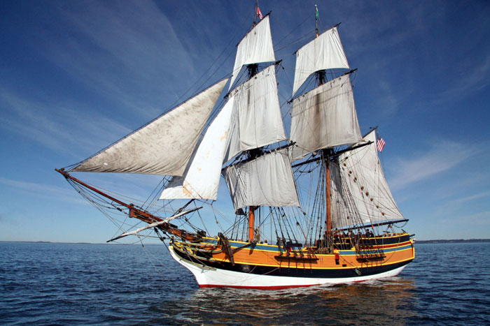 Lady Washington to Visit King Harbor, Chula Vista