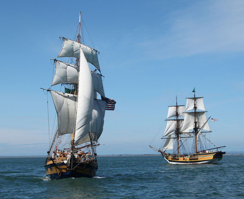 Tall Ships Visiting Newport Harbor Through Jan. 11