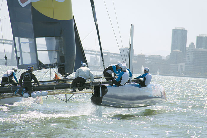 Team USA45 Prepares for Youth America's Cup